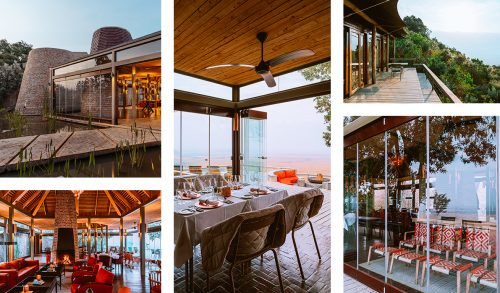 The unusual design and vibrant colours of the lodge are a dream to capture. Photographs by Mutua Matheka