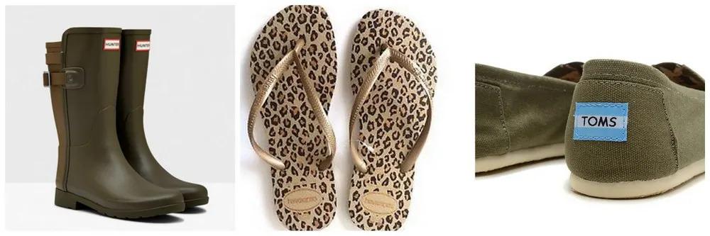 Nicky's safari shoe collection