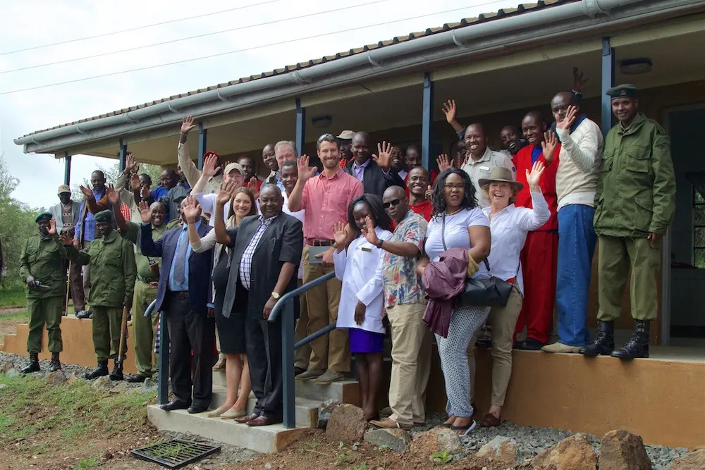 Opening The Angama Mara Clinic