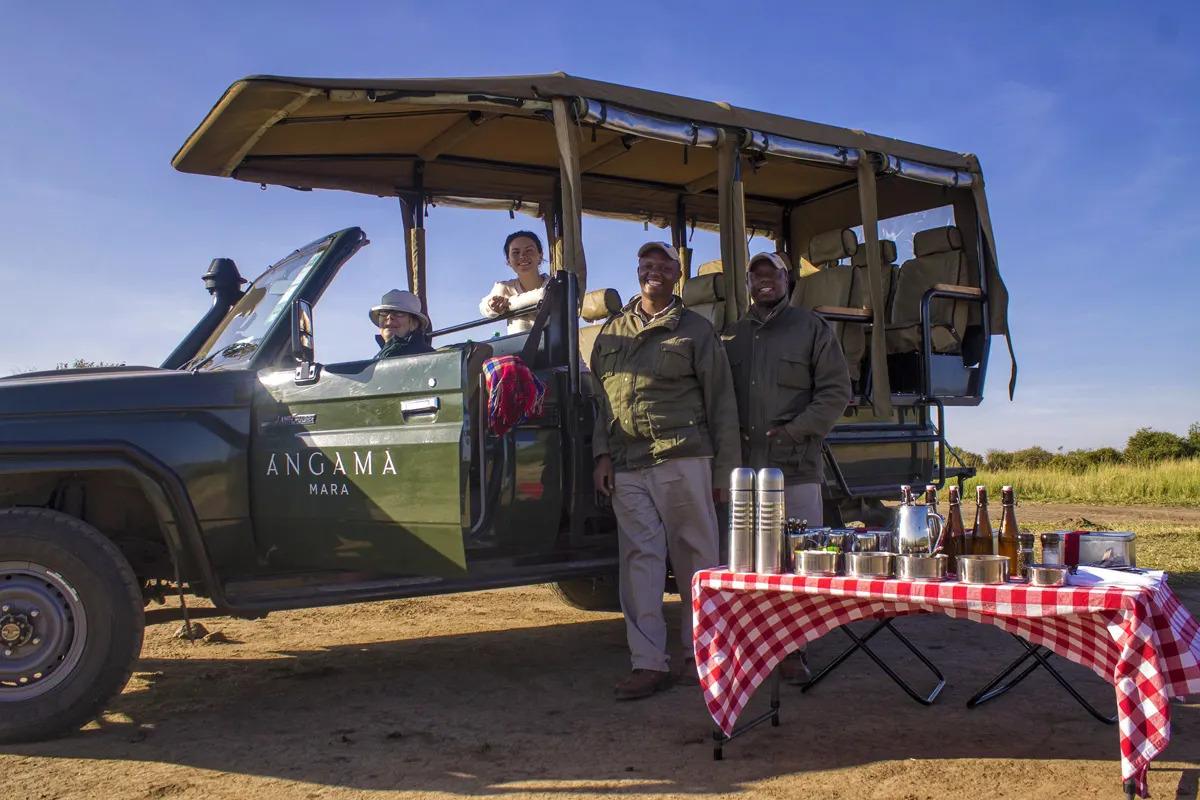 Patty's safari team