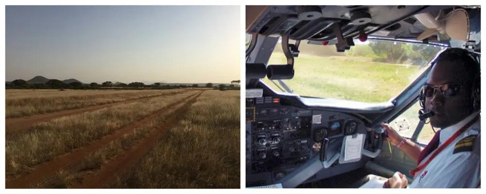 Captain Philip and Samburu Airstrip