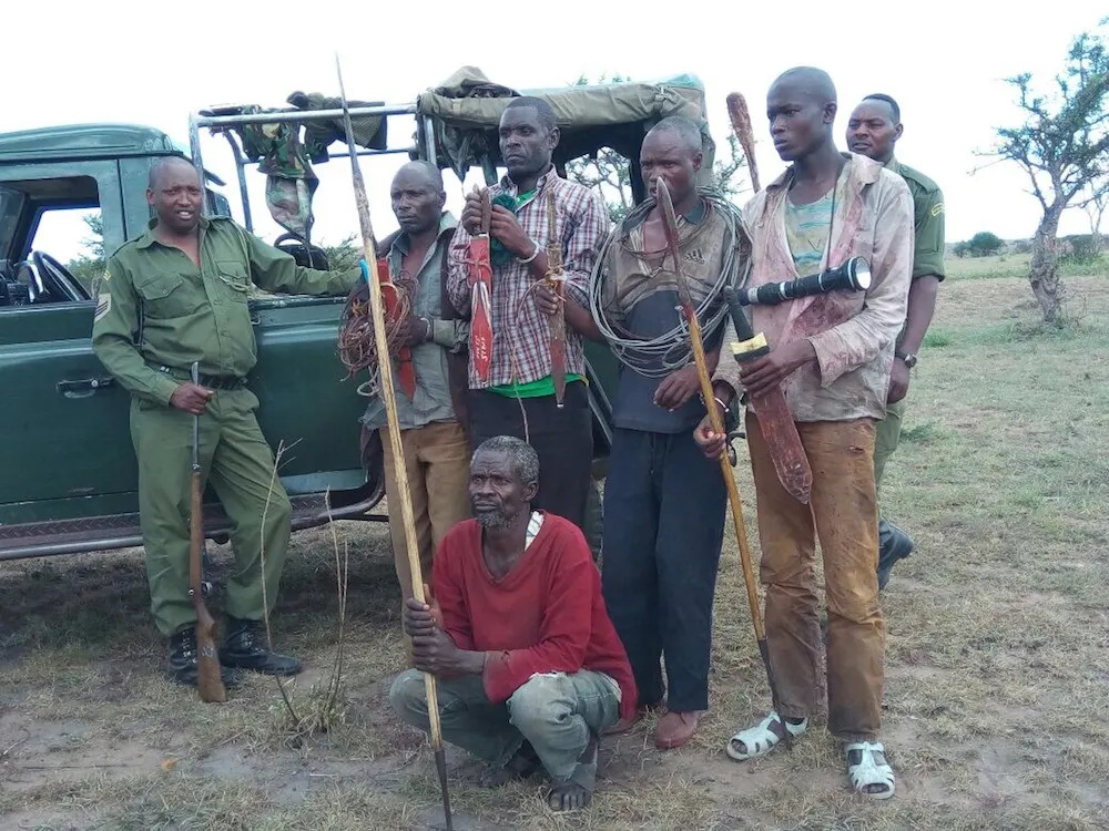 Poachers from the Mara Triangle