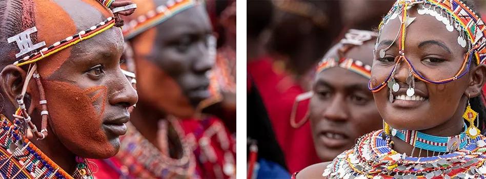 Maasai portraits