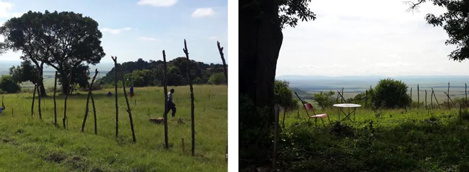 Angama Mara shamba in progress