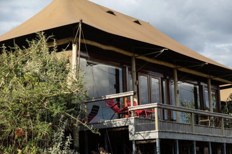 An Angama Mara tent