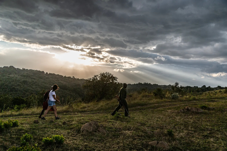 Walks along the escarpment