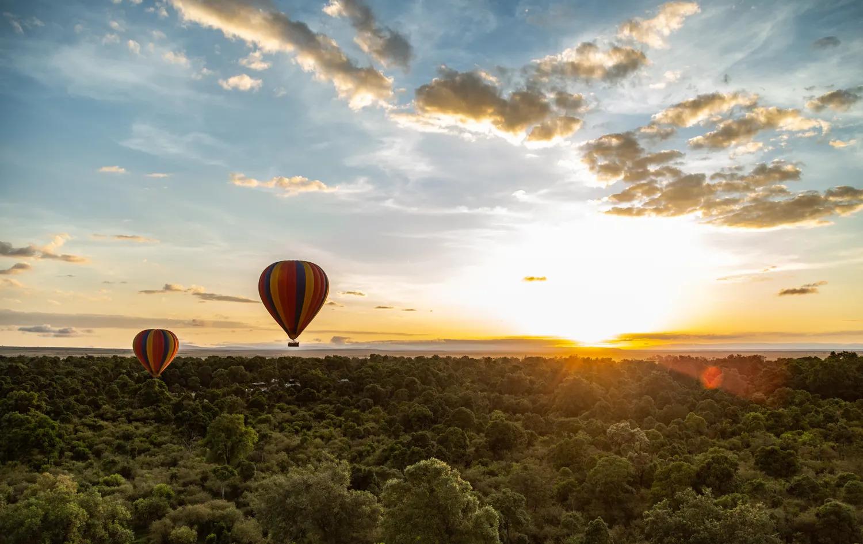 A balloon sunrise