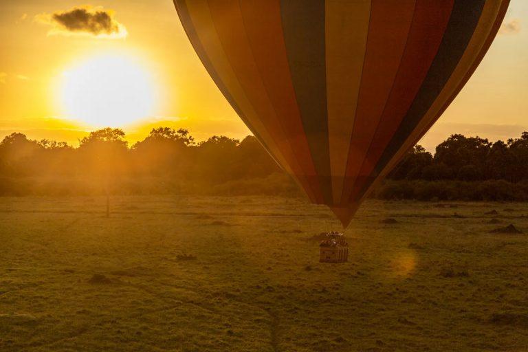 Hot Air Balloon photography Kenya