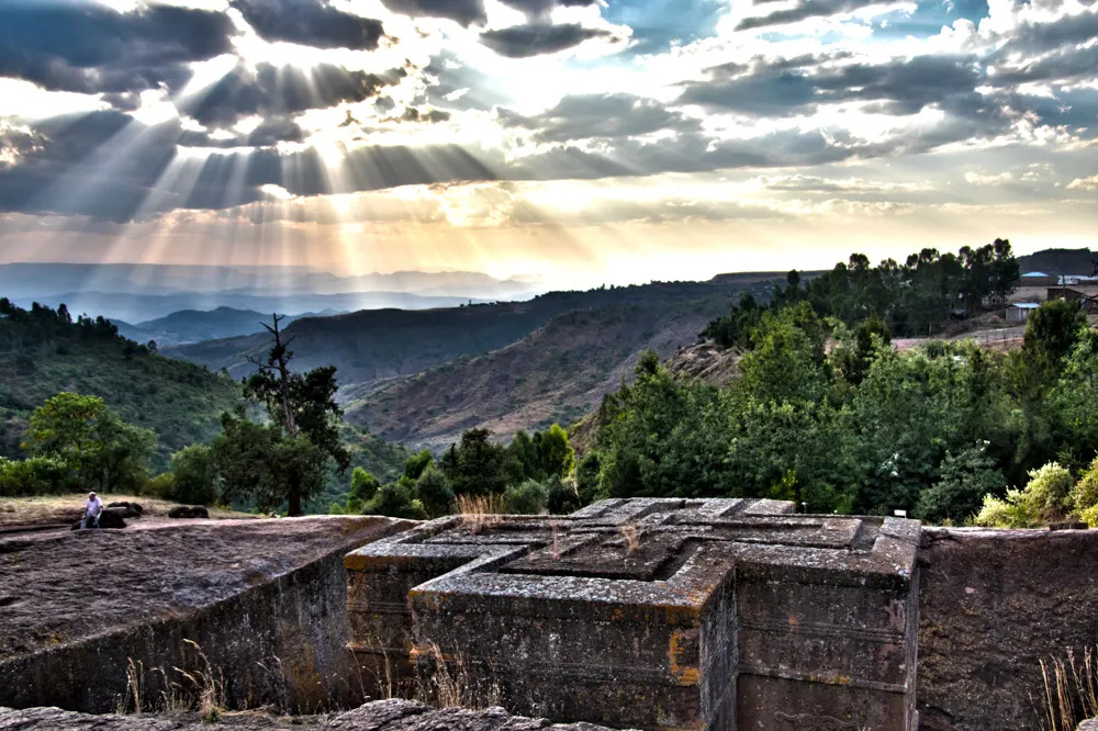 St Georges Church in Lalibela