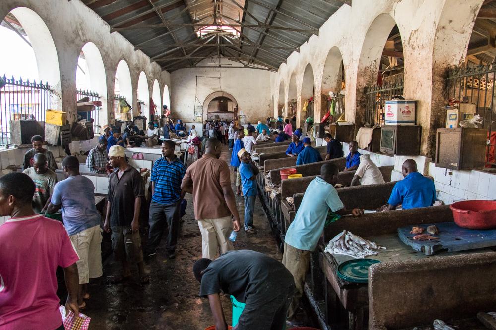 Stone town Market ZANZIBAR