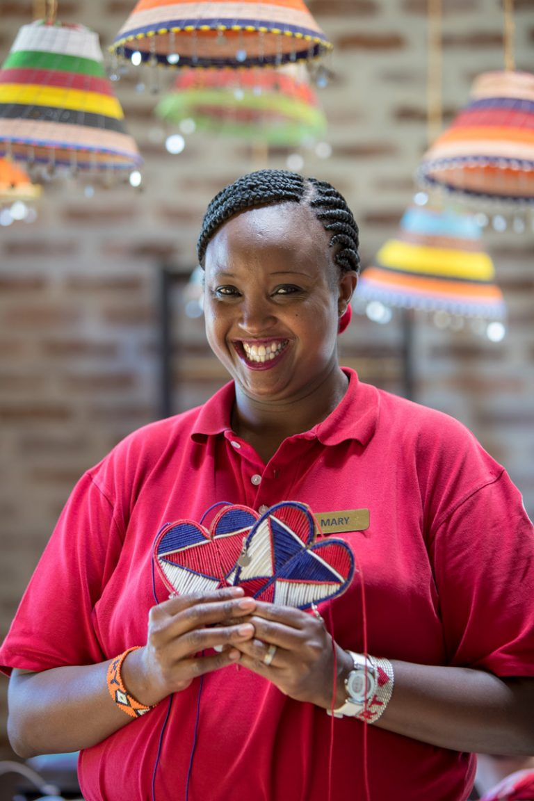 Angama Shop Manager Mary