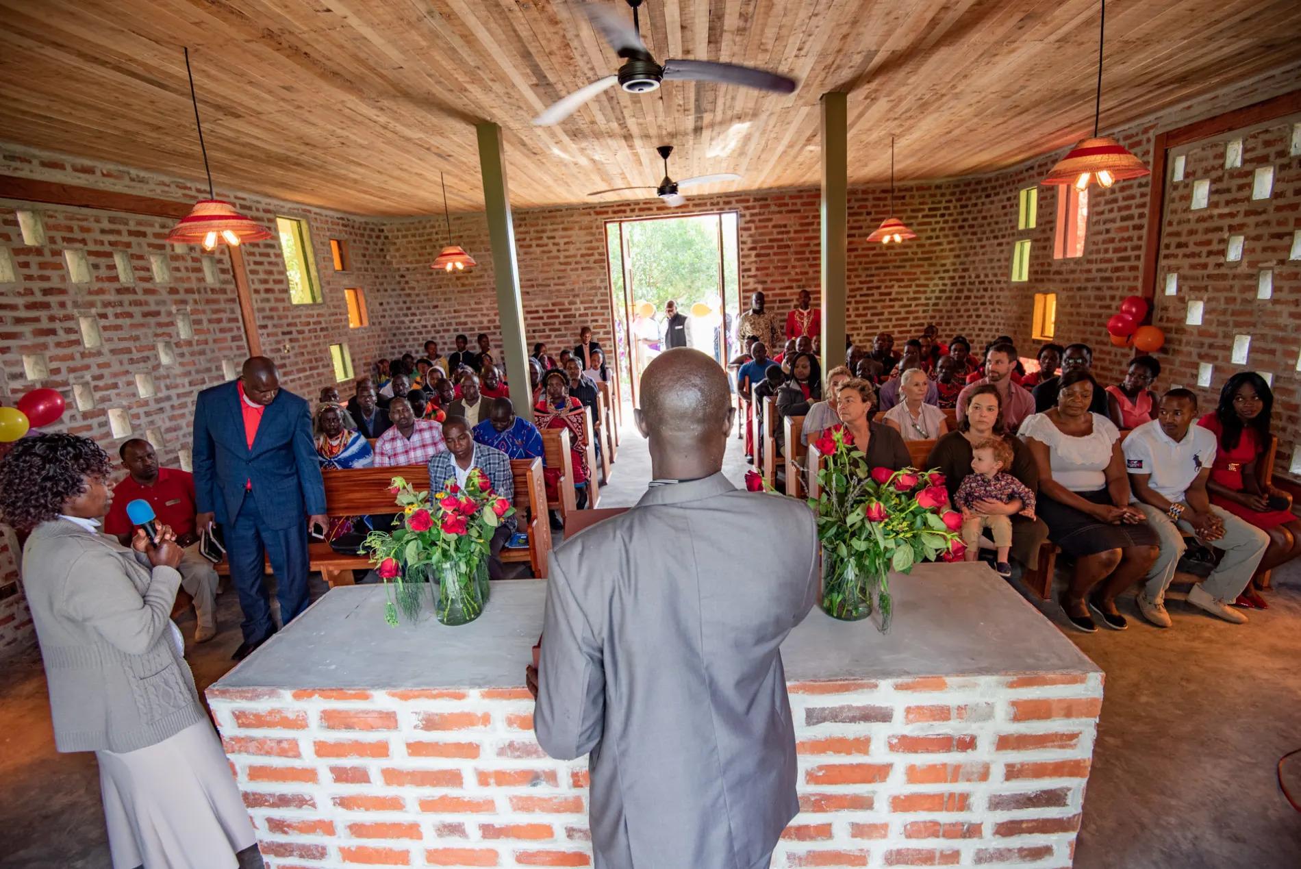 Angama Chapel Service
