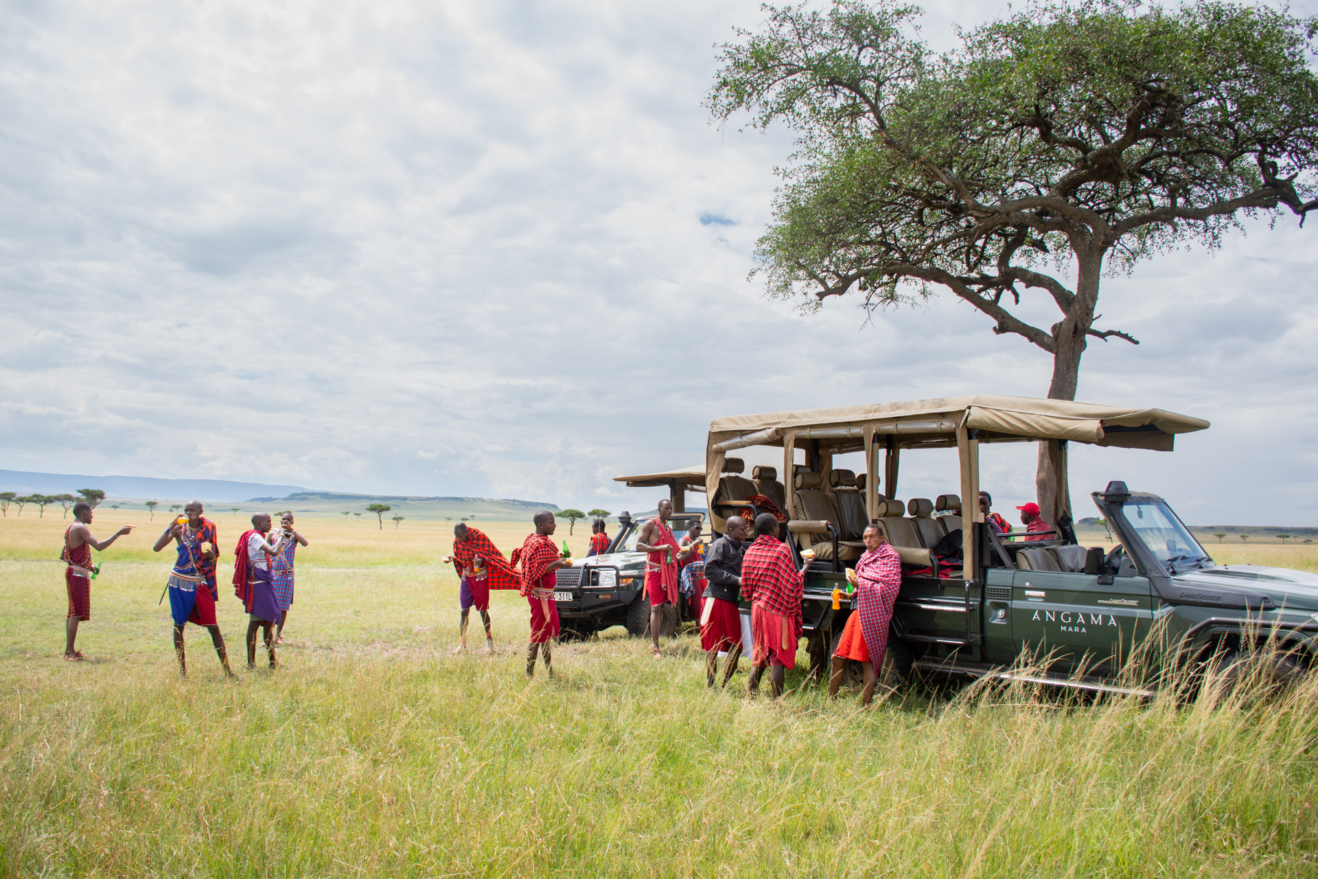 Lunchtime in the Mara