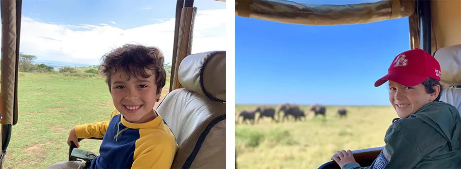 Tina and Sons Game Drive 2