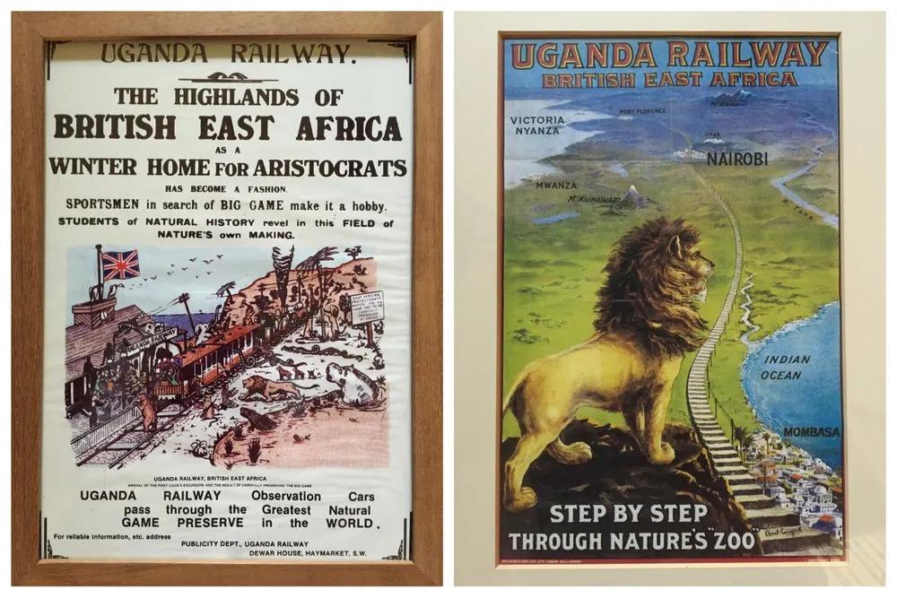 Ugandan Railways Posters