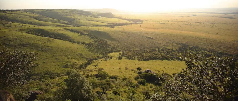 View over the Mara Triangle