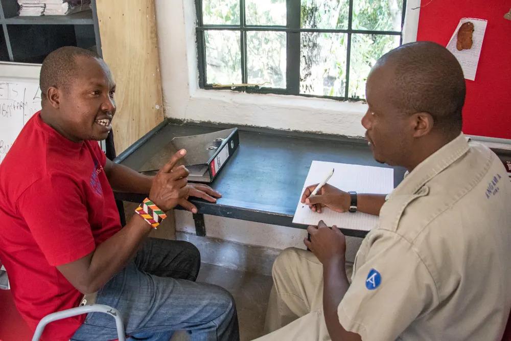 Talking sitings with Dan Ouma