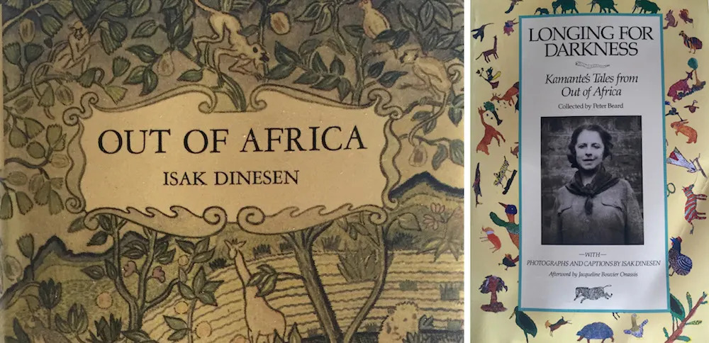 Angama Mara's tent books