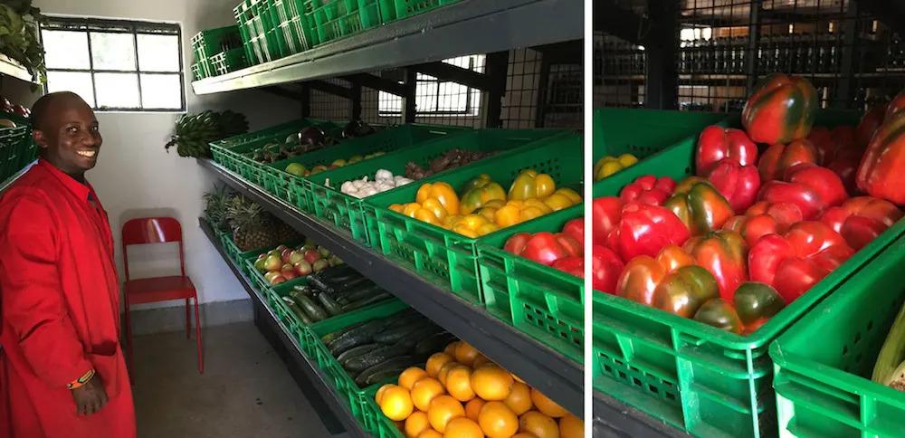 Angama Mara's Veggie Store