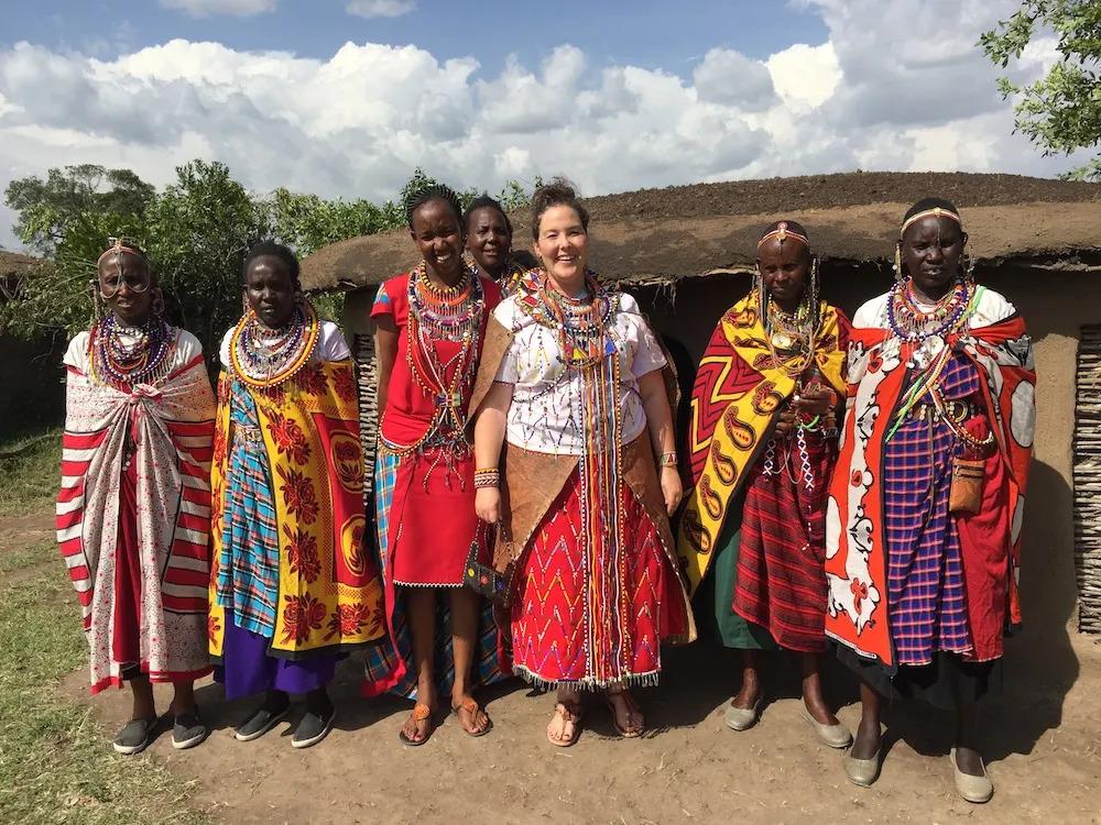 Emerging from the Manyatta