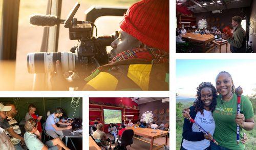 A range of mentorship sessions linked film makers from around the world