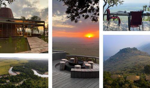 Angama Mara boasts unparalleled views of the Maasai Mara