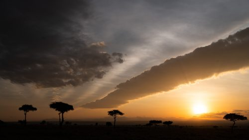 A stunning sky – a signature look of the Mara