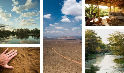 Tsavo; lava-lands, red earth and enormous skies