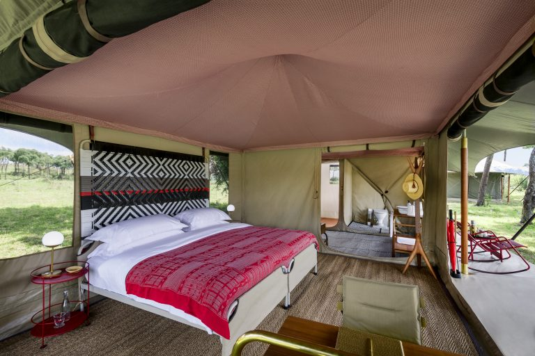Tented Suites at Angama Safari Camp
