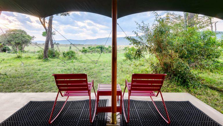 Red Rocking Chair Safari at Angama Safari Camp