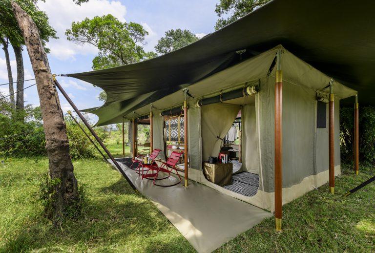 Angama Safari Camp guest tent