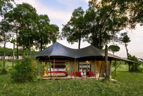 The brand new Angama Safari Camp Tents