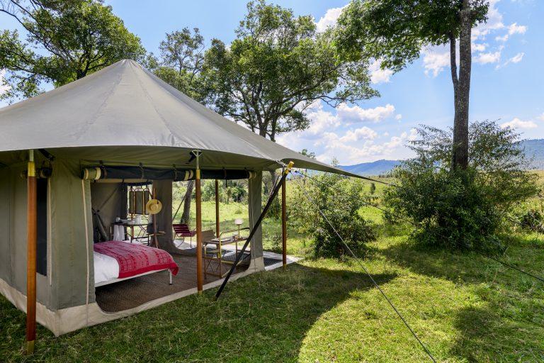 Angama Safari Camp tents