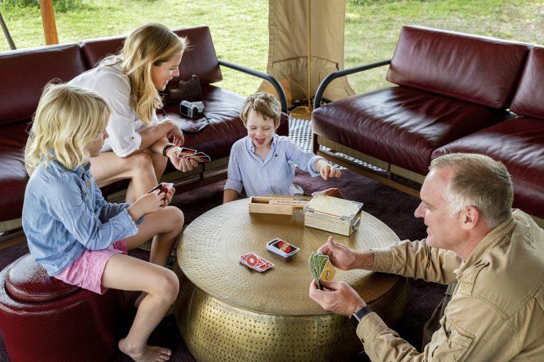 Family time at Angama SAfari Camp