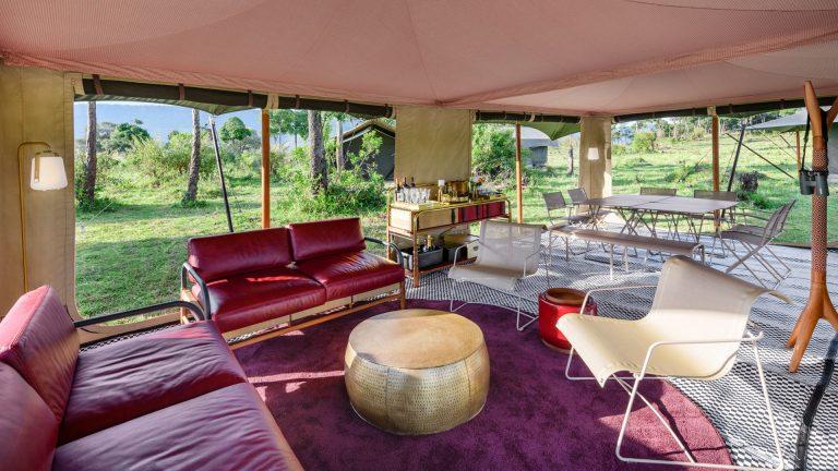 Angama Safari Camp lounge