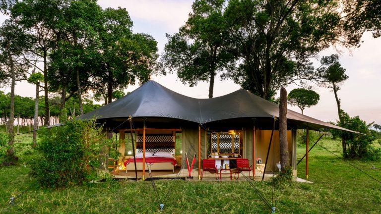 Angama Safari Camp tented suite