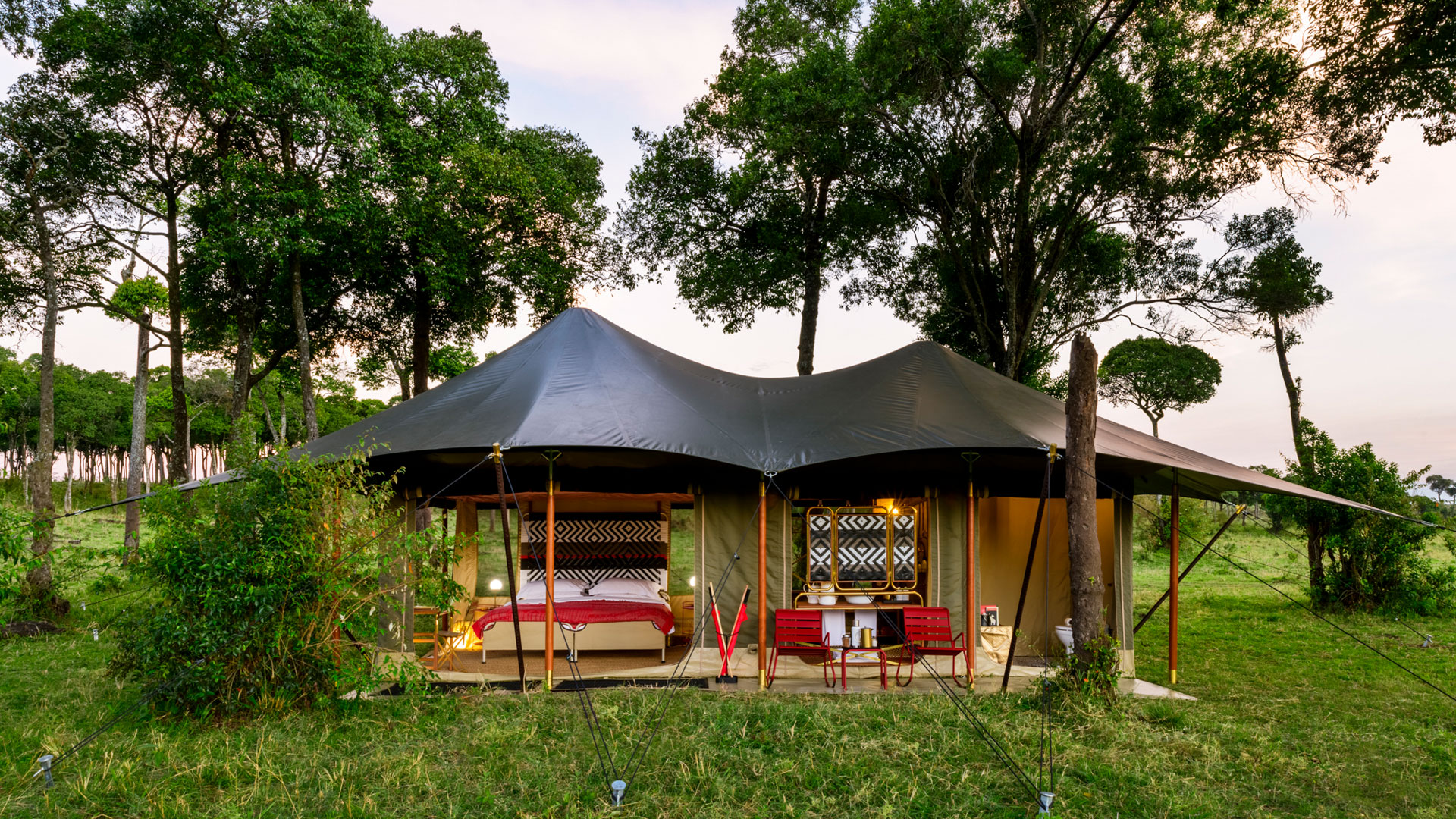 Angama Safari Camp tented suite