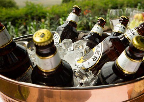 Tusker Beer, best served ice-cold