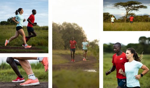 Taking in the spectacular scenery of a run through the Mara