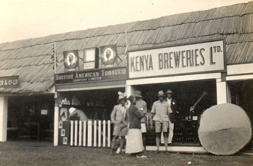 The offices of Kenya Brewery & British American Tobacco, 1920's
