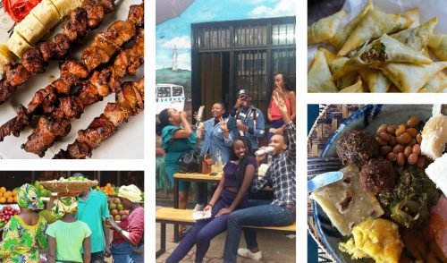 Kigali, a vibrant city bustling with busy markets and delicious food