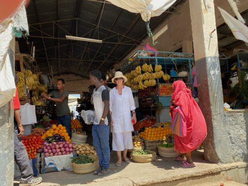 Vegetable market Keren