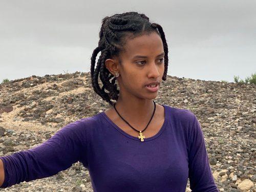 Eritrean guide at Adulis