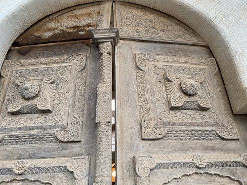 Door detail Governors Palace Massawa