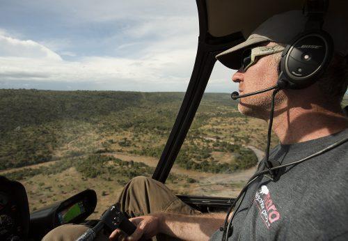 Marc Goss, CEO of the Mara Elephant Project