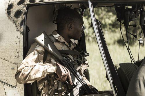 Ranger from the Mara Elephant Project