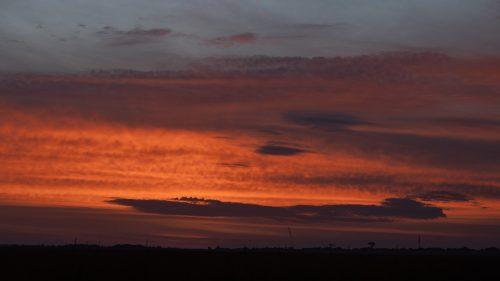 Sunrise across the Maasai Mara