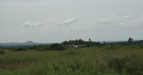 Coastal Airplane lands at Tarime Airstrip