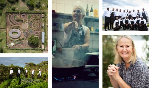 Amanda Collins and the Angama Chefs, the talent behind Angama's food