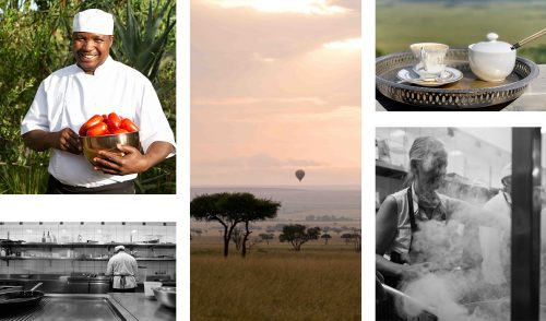 From coffee with a view to the heat of the kitchen, all in a days' work for the Angama chefs